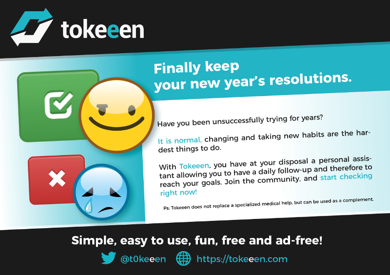 Reach your goals with Tokeeen!